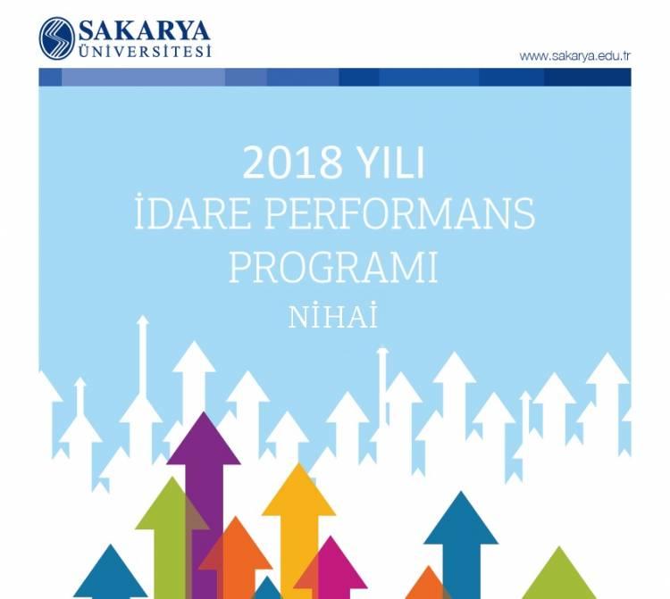 2018 Yılı Nihai Performans Programı